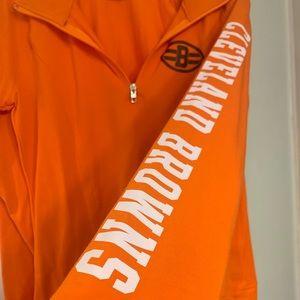Cleveland Browns Pink sweat shirt